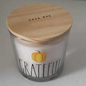 Rae Dunn - Grateful  24oz Candle Pumpkin S…